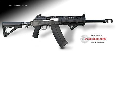 hitechcc Howitzer70 Muzzle Brake for Saiga 12 or VEPR12 Shotgun